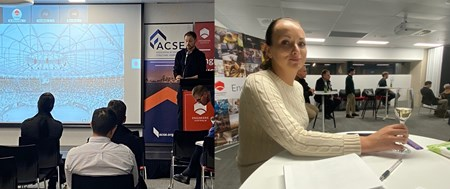 Engineers from TTW & Arup presented at last week's ACSE  Image